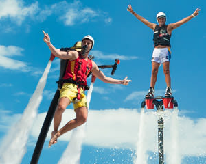 Jet Pack AND Board Combo, In-Water Training PLUS 20 Minute Flight Time - Champion Lakes, Perth