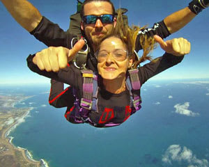 Skydiving Torquay, Great Ocean Road up to 12,000ft WEEKDAY