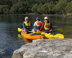 Single Kayak Hire, 2 Hours - Bundeena, Sydney
