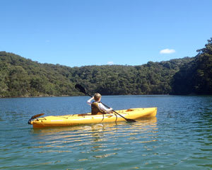 Kayak Hire, 1 Hour Self Guided Single Kayak Tour, The Basin - Sydney