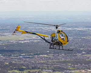 Learn To Fly A Helicopter In Melbourne - 40 Minutes