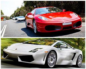 Luxury Ferrari Or Lamborghini Supercar Drive, 20 minutes - Sydney
