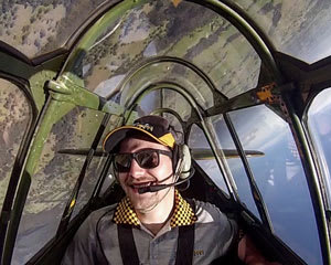 Aerobatic Adventure Flight in a Genuine World War 2 Warbird Plane - Sydney