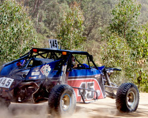 Off Road V8 Race Buggies, 3 Hot Laps - Ballarat