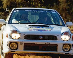 Subaru WRX Rally Driving, 13 Lap Combo - Ballarat