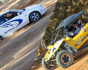 V8 Off Road Race Buggies & WRX Rally 16 Lap Drive AND 2 Hot Laps - Mannum, Adelaide - BONUS LAPS