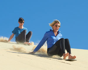 Sandboarding & 4WD Tour - Stockton Sands, Port Stephens