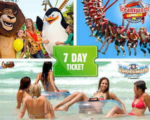 Dreamworld, WhiteWater World And SkyPoint 7 Day Ticket - Gold Coast