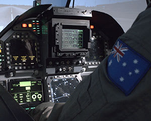 F/A-18 Jet Fighter Simulator, 30 Minutes - Sydney