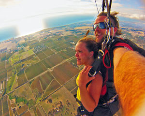 Skydive 15,000ft Over McLaren Vale Adelaide