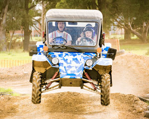 Children's (5-17) Wild Buggy Dual Control 15 Minute Driving Adventure - Melbourne