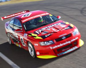 V8 Race Car Ride (FRONT SEAT!) - Sandown Raceway, Melbourne