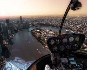 Private Helicopter Flight, 15-20 Minutes - Brisbane - For 2 & 3rd Person Flies Free