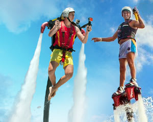 Jet Pack OR Board Experience, 10 Minute Flight - Sunshine Coast