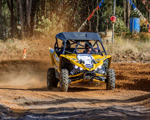 Yamaha YXZ Race Buggy, 8 Lap Drive and 1 Hot Lap - Mannum, Adelaide