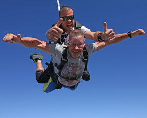 Melbourne Tandem Skydiving - 15,000ft WEEKEND SPECIAL Skydive - Melbourne