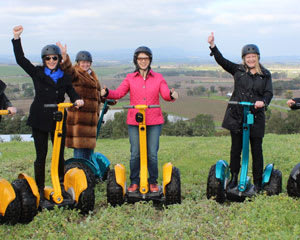 Segway Vineyard Tour, 60 minutes – Yarra Valley