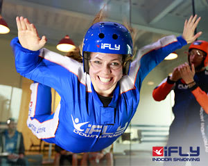 iFLY Indoor Skydiving Perth - 2 Flights, Weekend