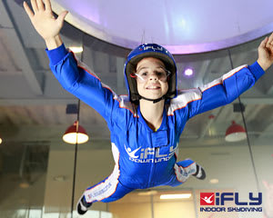 Indoor Skydiving Perth WA, iFLY Plus Package (4 Flights) - NOW FLYING