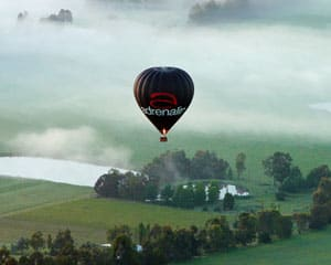 Hot Air Balloon Melbourne, Yarra Valley (Flight Only)