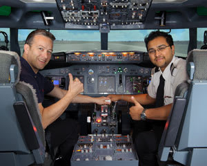 Boeing 737 Flight Simulator Melbourne CBD - 60 Minute City Flyer