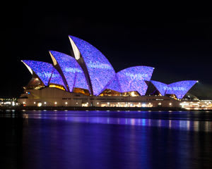 Vivid Sydney Harbour Cruise - 60 Minutes