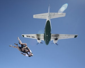 Tandem Skydive up to 14,000ft, Weekend - Caloundra, Sunshine Coast