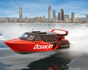 Jet Boat Ride, 45 Minute Ocean Thrill Ride, Surfers Paradise - Gold Coast SPECIAL OFFER