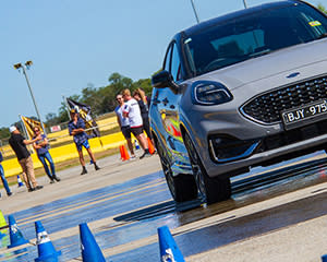 Defensive Driver Training at Sydney Motorsport Park