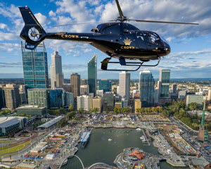 Helicopter Scenic Flight Through The Heart of Perth For 2