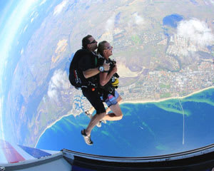 Skydiving onto Busselton Beach, 15,000ft Tandem - WA