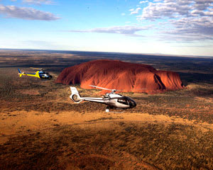 Helicopter Scenic Flight, 25-minute - Uluru & Kata Tjuta