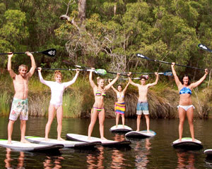 Stand Up Paddle Board Adventure - Margaret River