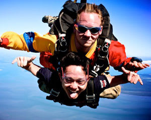Skydiving South East Melbourne - Tandem Skydive Up To 12,000ft