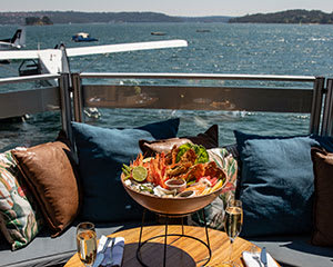 Sydney Seaplane Flight and Seafood Feast for Two at Empire Lounge - Rose Bay Sydney