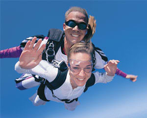 Skydiving Sydney - Tandem Skydive UP TO 7,000ft SPECIAL OFFER!