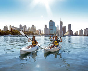 Guided 1.5hr Kayak Tour Of The Brisbane River (Daytime)