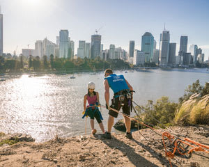 Abseil Kangaroo Point Cliffs - Brisbane