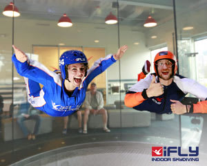 Indoor Skydiving Gold Coast, iFLY Family & Friends Package (10 Flights)