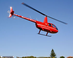 Helicopter Scenic Flight for 3 people, Alkimos Wreck - 12 minute, Yanchep, Perth