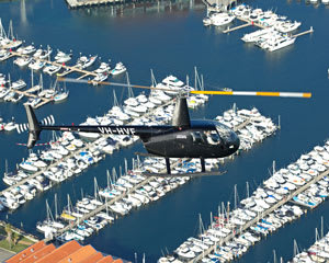 Helicopter Tour of Perth City, Fremantle & Little Island Private Flight 30 minutes, Hillarys Boat Harbour - For 2