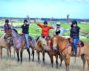 Barossa Horse Riding, 2.5hr Over The Hill Tour with Morning Tea - Barossa Valley Adelaide
