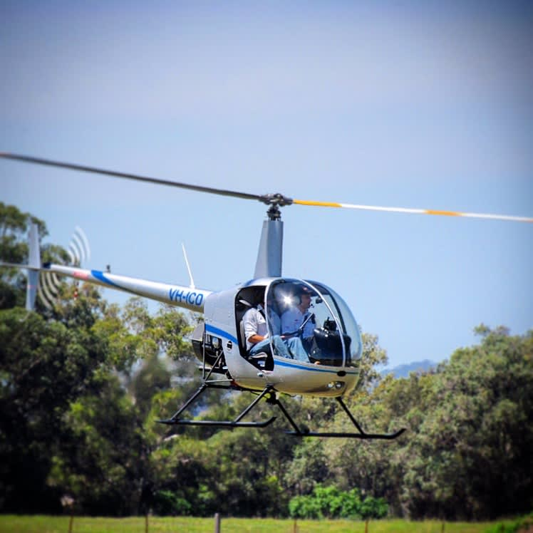Helicopter Pilot Training 30min, Learn to Fly A Helicopter - Hunter Valley