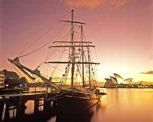Sailing, Tall Ship Twilight Dinner Cruise - Sydney