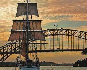 Sailing Tall Ship Twilight Dinner Cruise - Sydney