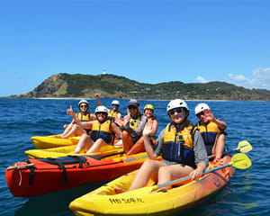 Dolphin Kayak Tour - Byron Bay
