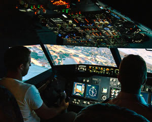 Jet Flight Simulator Canberra – 120 Minute Challenge Flight