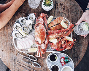 Seafood Feast and Champagne for Two at Empire Lounge - Sydney