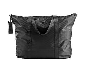 TAIKKA All Black Zip It Up Travel Bag