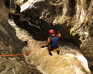 Canyoning, Abseiling and Caving - Dove Canyon